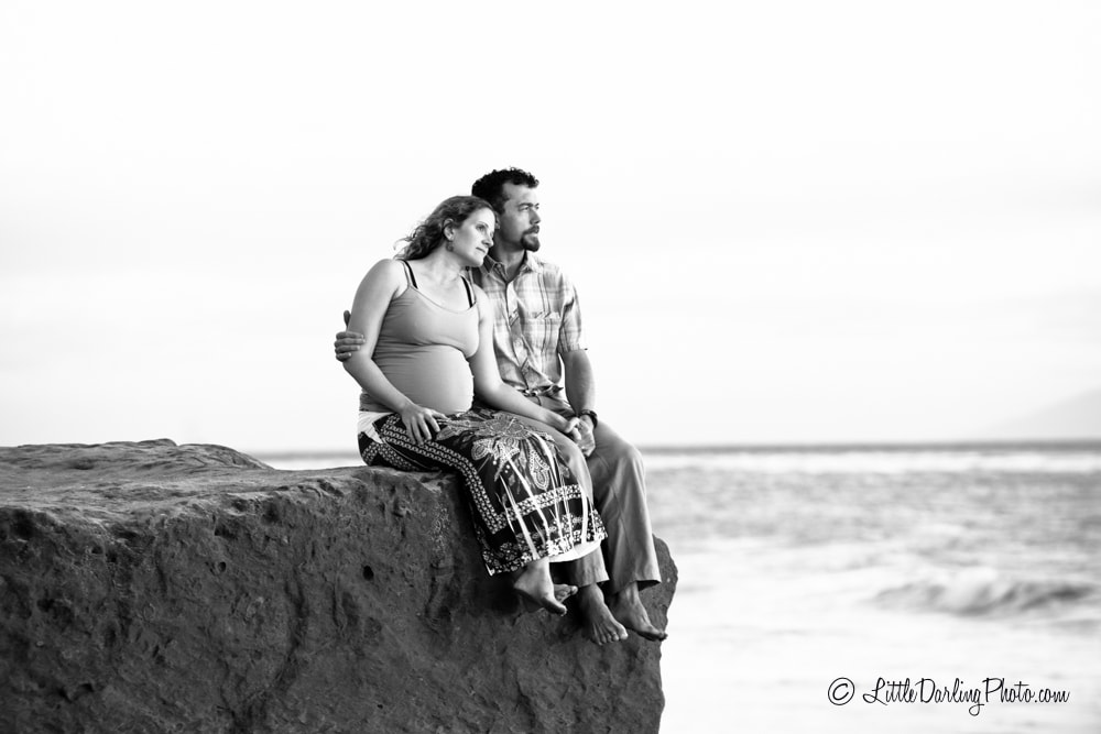 Maternity Photo Santa Cruz Beach