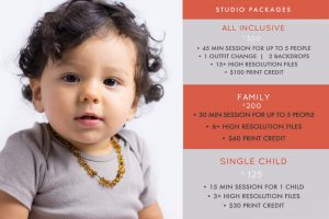 Holidays package choice photoshoots