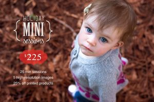 Holiday mini-session photography