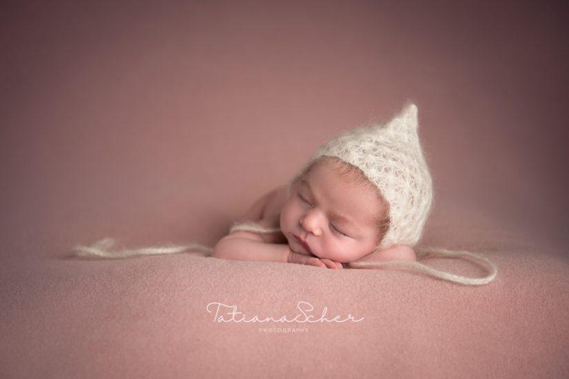 High end newborn photography