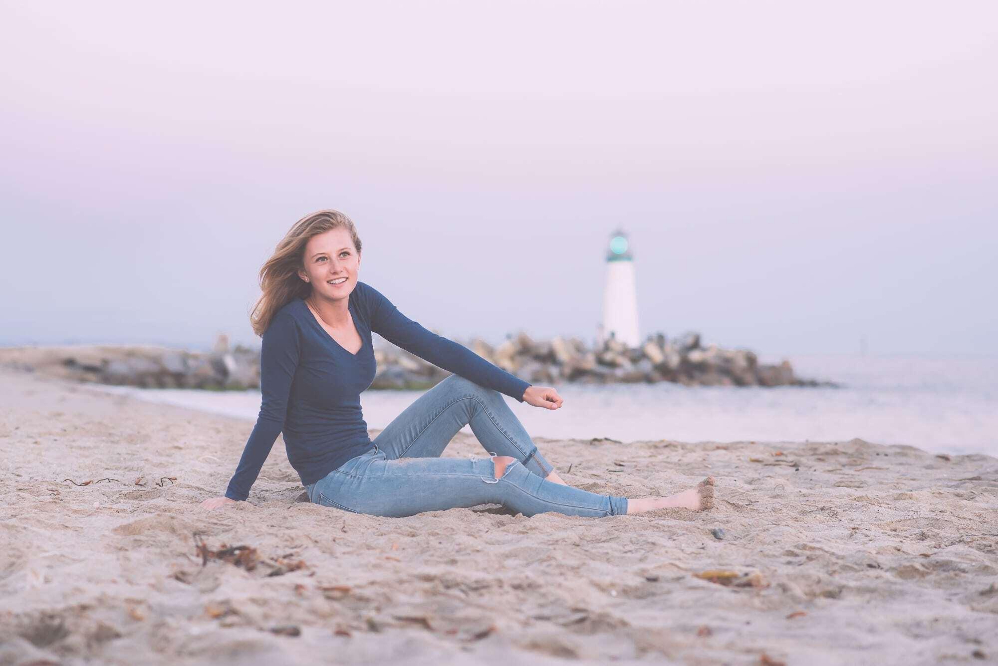 Senior photography carmel by the sea
