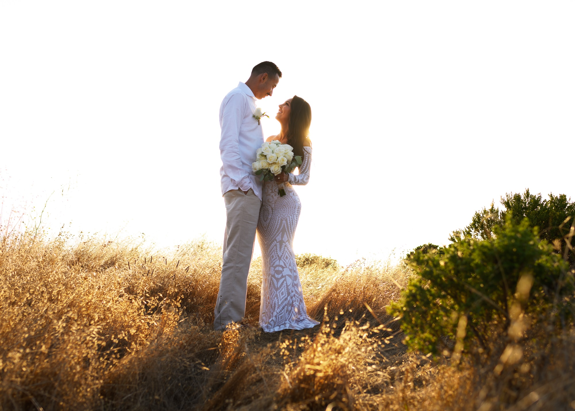 Monterey Bay elopement photo taken in Carmel-by-theSea