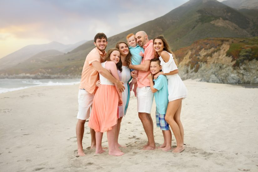 Big Sur family photography
