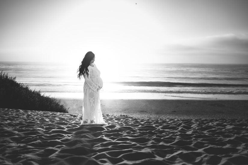 Monterey maternity portrait