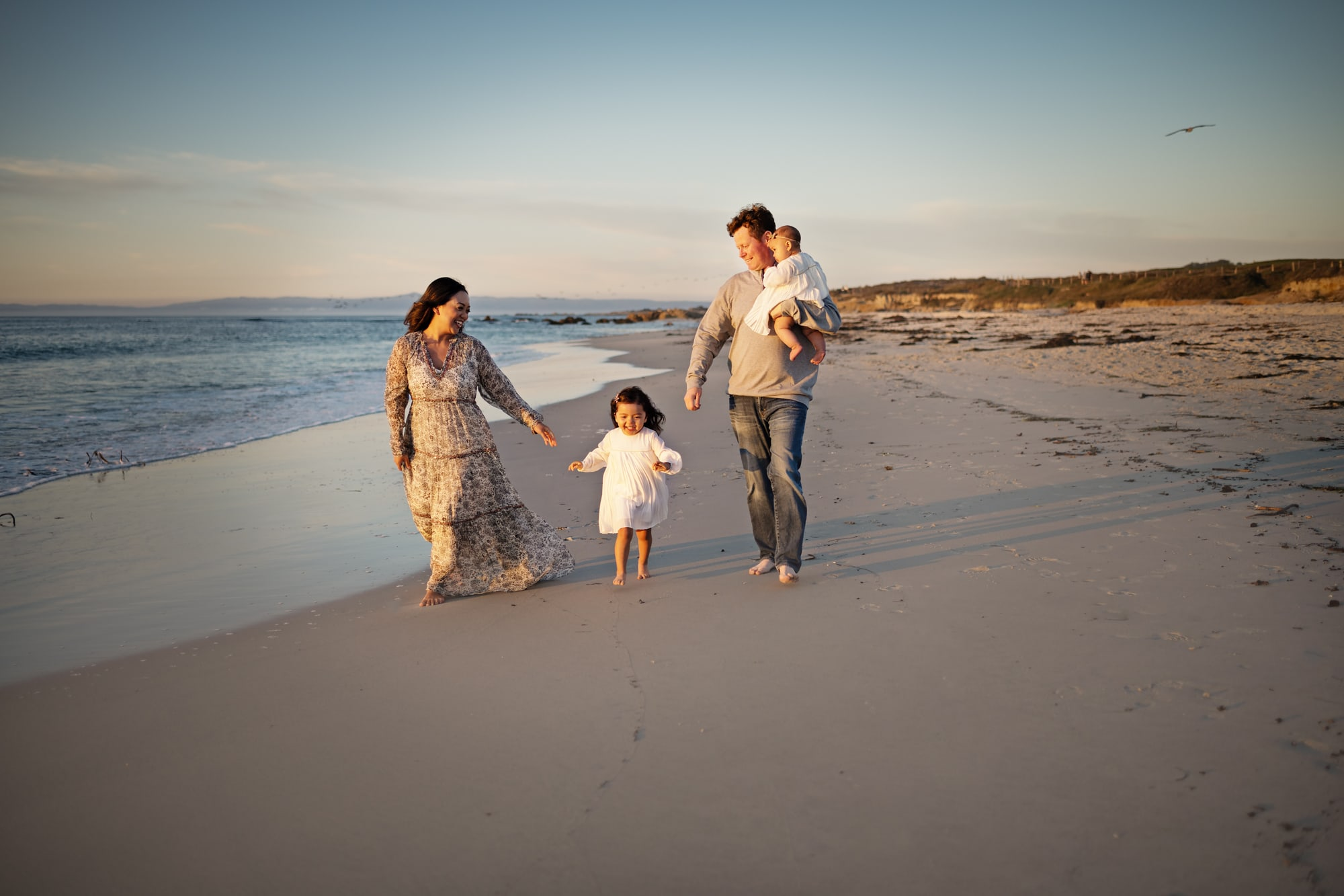 Pebble beach family photot