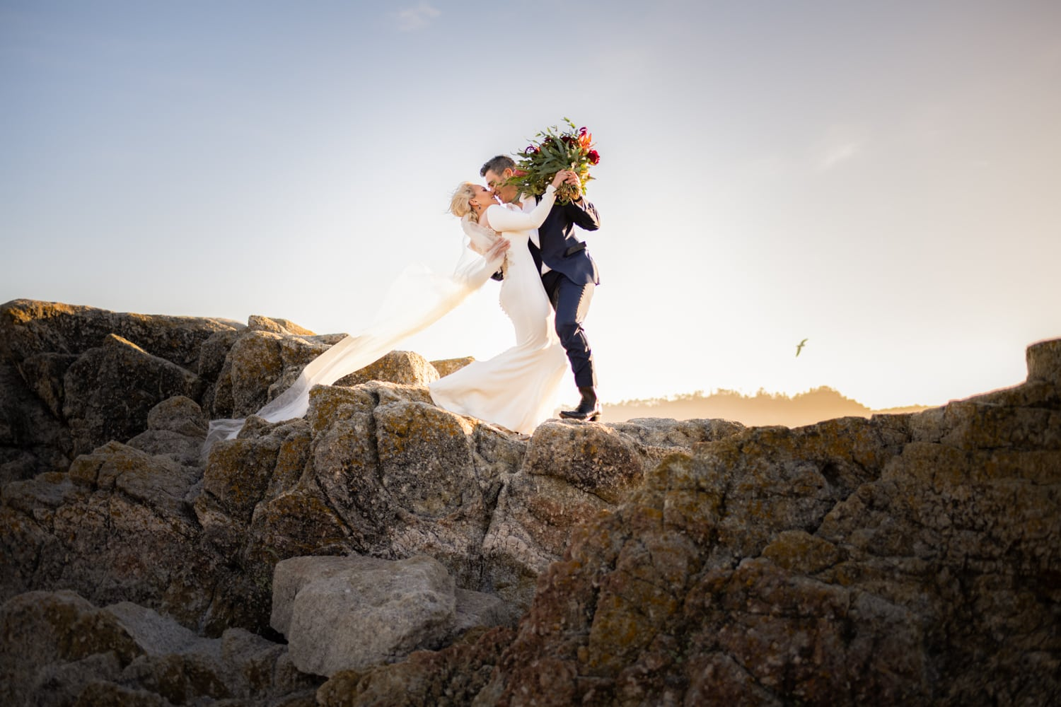 Wedding elopement in Carmel