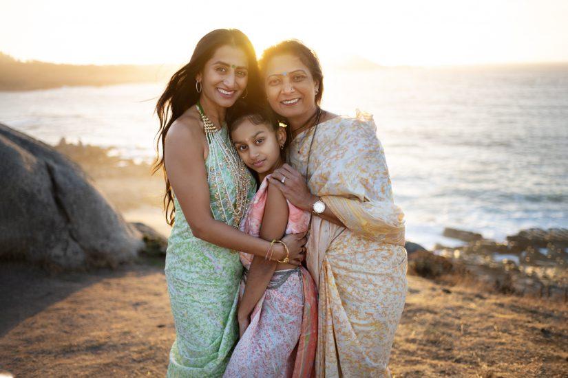 Carmel family women photo