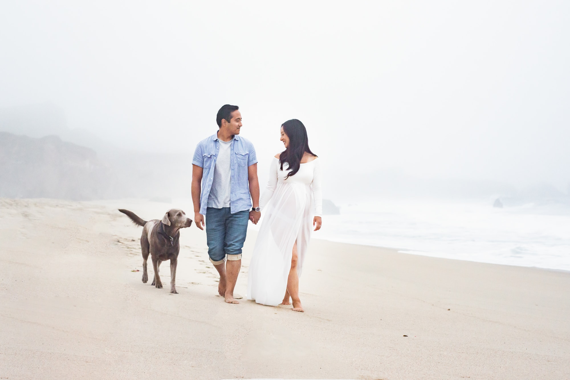 Big Sur maternity photo