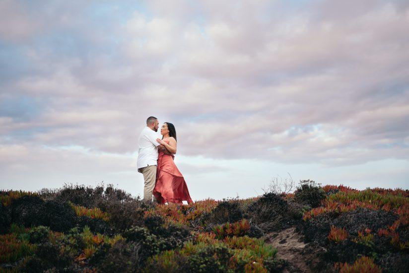Carmel engagement photo