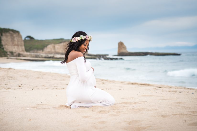 Santa Cruz maternity photo