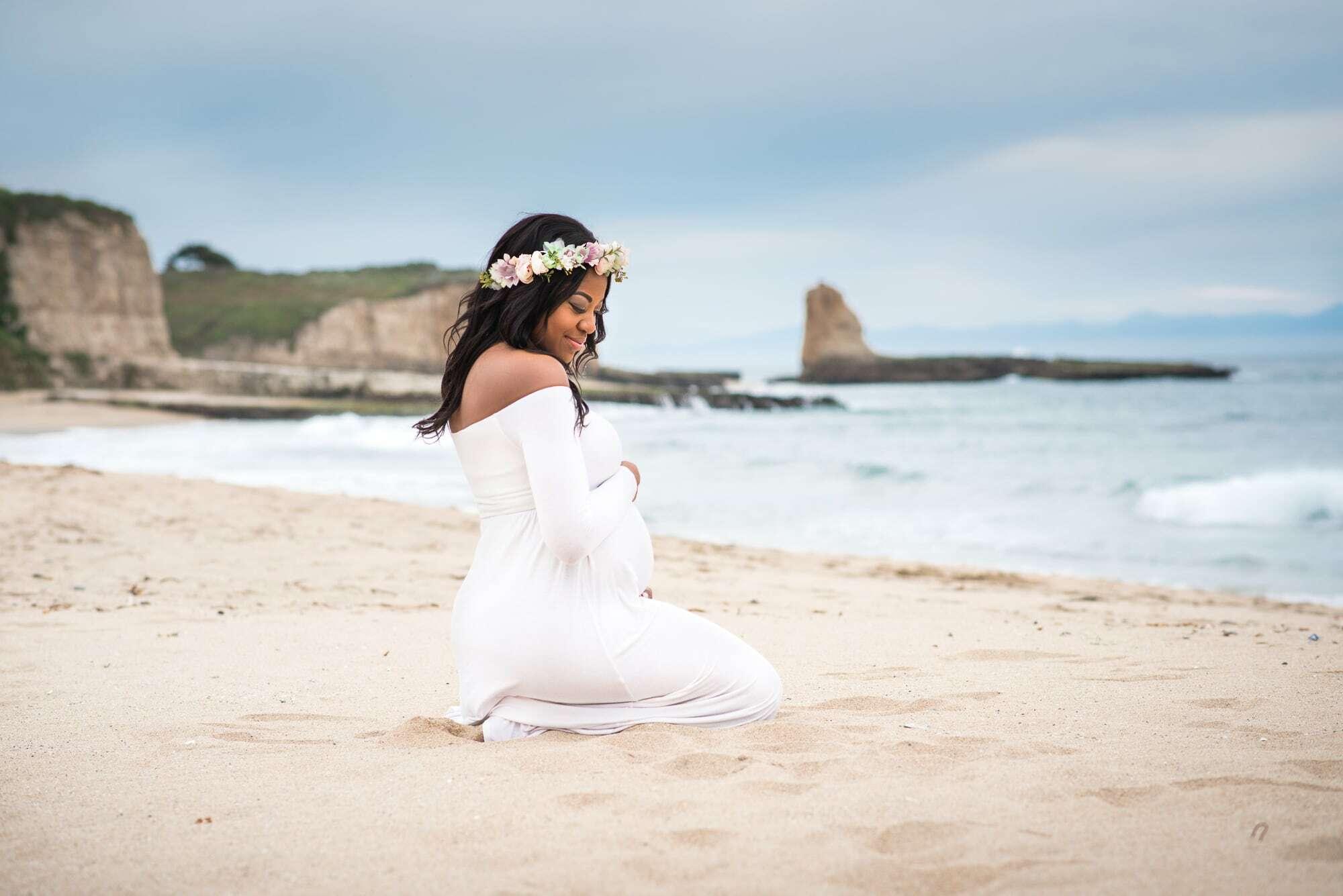 Santa Cruz maternity photo