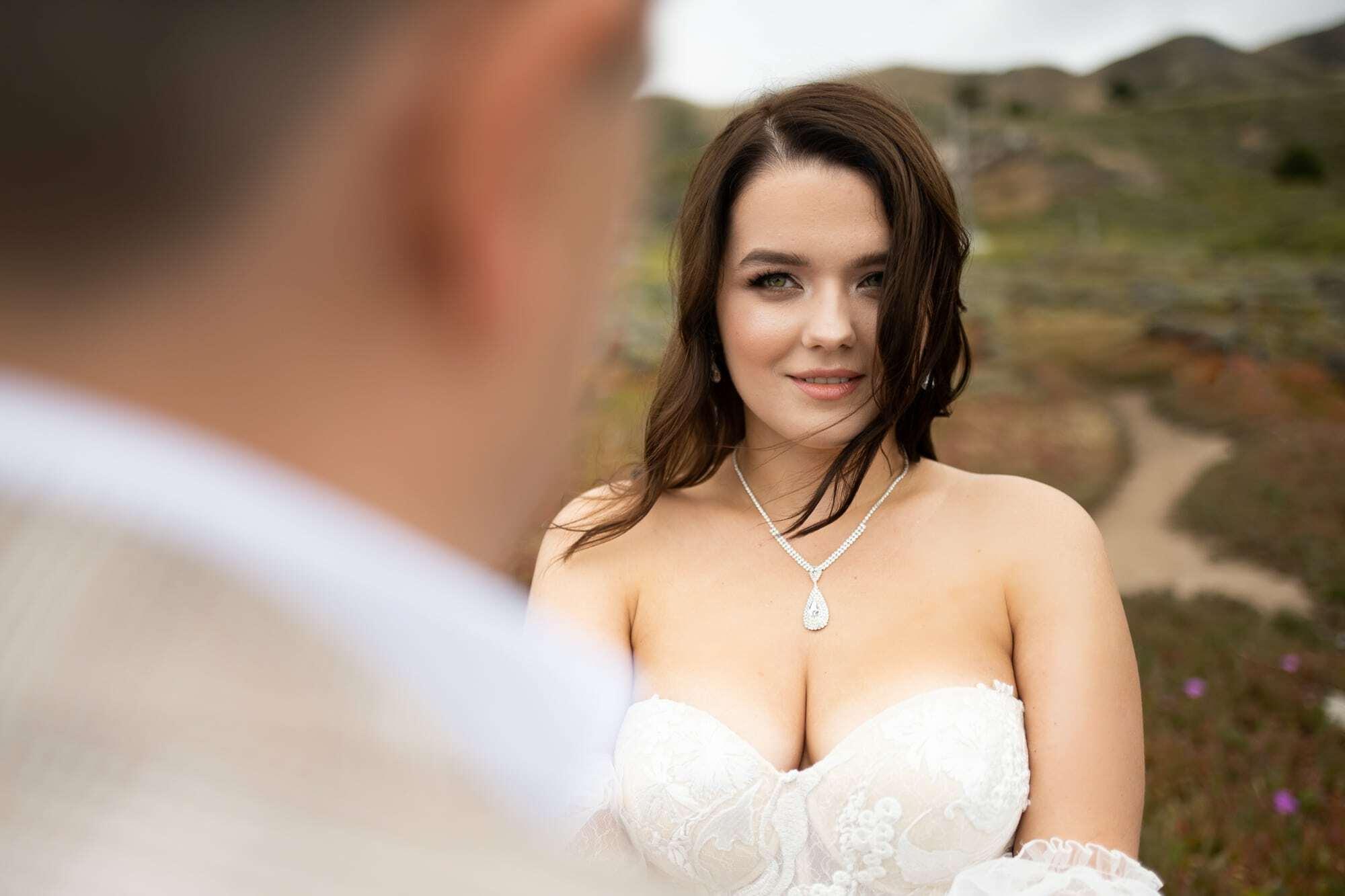 Big Sur elopement on the cliffs