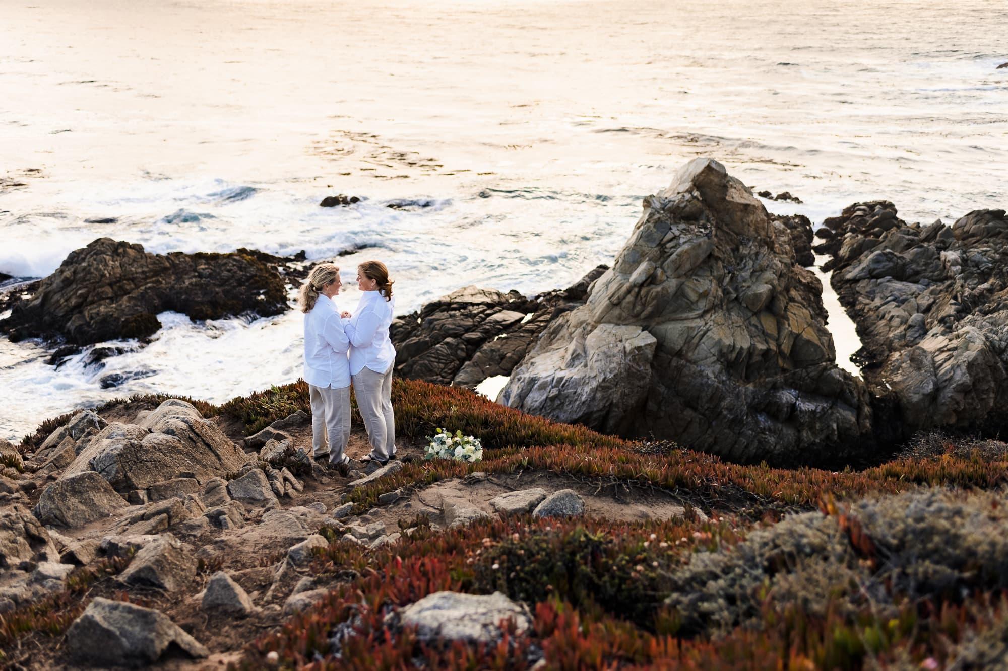 Brides in Big Sur